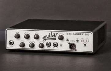 Aguilar 500 Tone Hammer forstærker top.