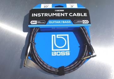 Original BOSS Jack kabel 3 meter - Vinkel