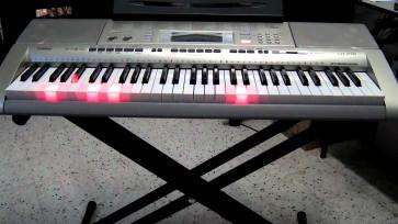 Casio Keyboard LK-280 PAKKE