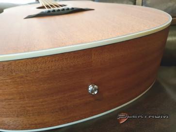 Guitar Reparation: Endeknap på Akustisk guitar