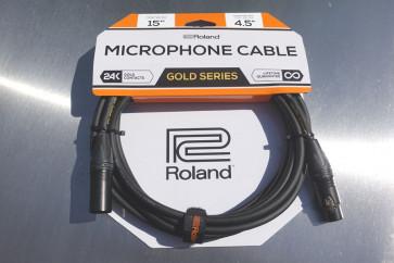Original ROLAND Gold Mikrofon kabel 4,5 meter