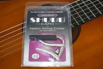 Shubb C2 Capo til klassisk / spansk guitar
