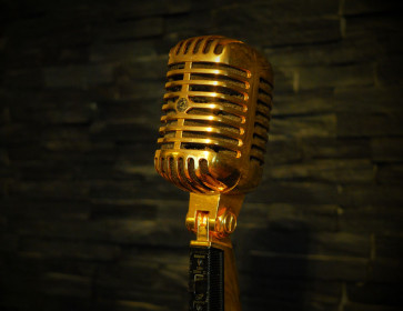 "SHURE Vintage Guld Mikrofon  ""Forsvundet""..!!!"