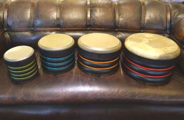 Trommus E1u sæt 4 stk. lave trommer