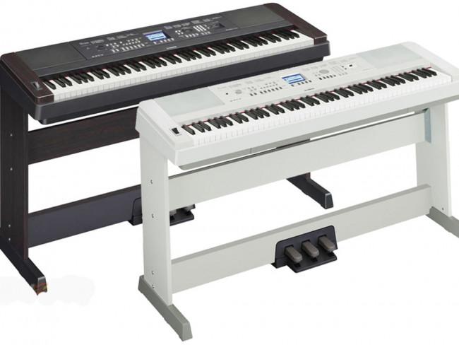 Yamaha dgx 650 klaver keyboard hvidt for Yamaha 650 piano