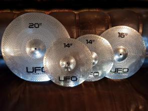 UFO bækken pakke I med etui.