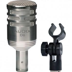 AUDIX D6n Stortromme mikrofon - Nickel