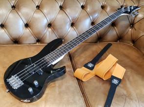 LTD begynder el-bas guitar m/ No. 1 rem.