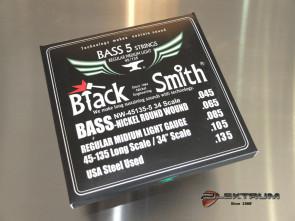 Bas strenge **Black Smith** 045 5-strenge
