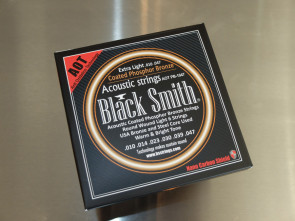 Black Smith Coated Western guitar strenge 010