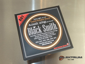 Black Smith Coated Western guitar strenge 010