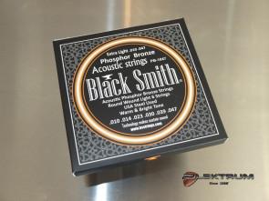 Black Smith Phos. Bronce Western guitar strenge 010