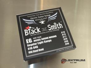 010 El-guitar strenge *Black Smith*