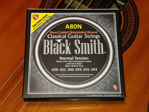 Klassisk guitar strenge *Black Smith* - Coated