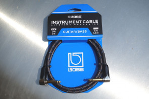 Original BOSS Jack kabel 1 meter - Vinkel
