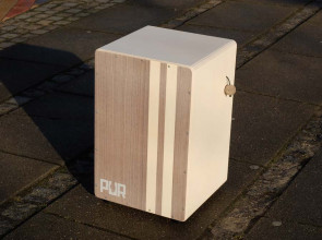 PUR Stained Cajon med justerbar unik seiding