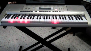 Casio Keyboard LK-280 PAKKE