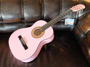 Pink Cataluna Klassisk 3/4 begynder Guitar
