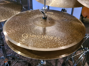 "CymbalWorks Casablanca 14"" Session Hihat"