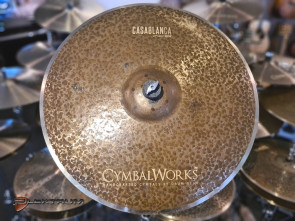"CymbalWorks Casablanca 21"" Light Ride bækken"