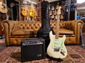 Begynder el-guitar pakke i ST-style