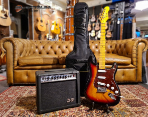 El-guitar pakke ST-style