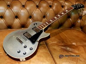 **SOLGT** Epiphone Les Paul Silver Sparkle el-guitar