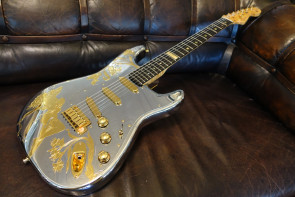 Fender Custom Shop Stratocaster i Aluminium
