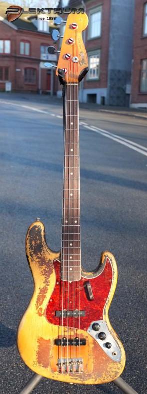 **SOLGT** Fender 1966 Vintage Jazzbas