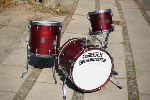 **SOLGT** Gretsch Broadcaster Jazz Trommesæt 10, 14, 18