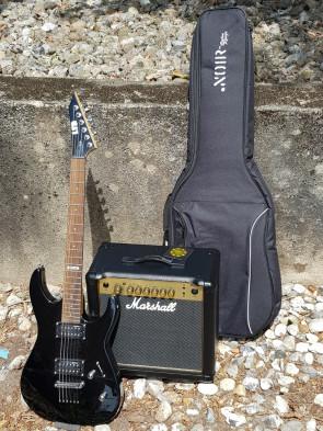 Z-TILBUD... LTD el-guitar + Marshall 15 forstærker