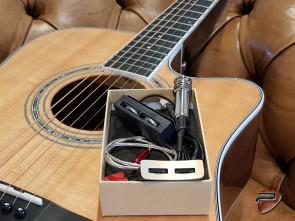 Guitar Reparation: Ny mikrofon på Western guitar