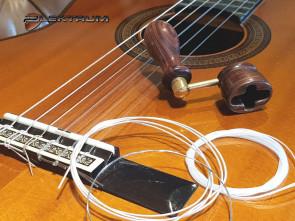 Guitar Reparation: Nye Strenge på spansk guitar