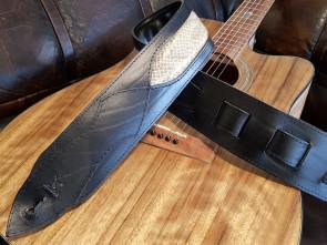 Læder Slangeskind GuitarRem