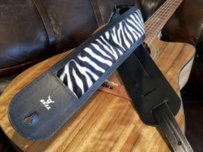 GuitarRem i Zebra mønster - bred