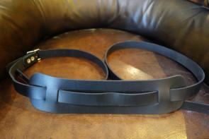 GuitarRem i sort læder - vintage