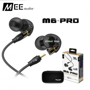 MEE M6 In-Ear Hovedtelefon - sort