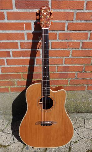 K. Yairi Handmade DY62c western guitar