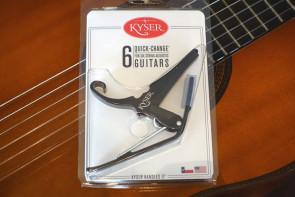 Kyser KG6B Capo til el- og western guitar