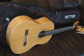 La Mancha klassisk guitar Rubi CMX m/ gigbag