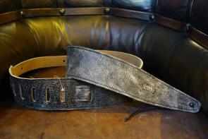 Levy's Vintage Sort læder GuitarRem