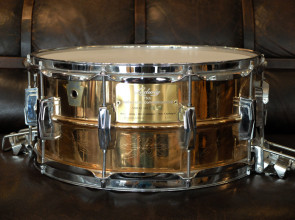 Ludwig 6x14 Anniversery 75th. indgraveret lilletromme