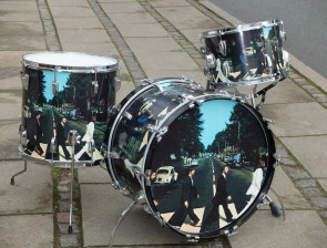 Ludwig Vintage 71' trommesæt i Abbey Road finish