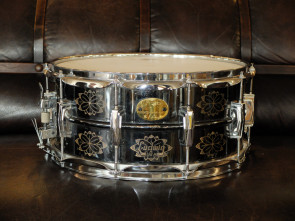 Ludwig 6x14 Black Beauty indgraveret lilletromme