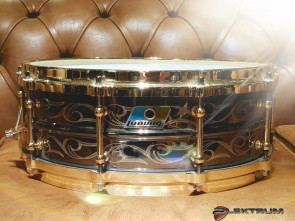 Ludwig 5x14 Black Beauty indgraveret lilletromme