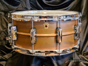 Ludwig copper phonic lilletromme 6½x14 - Brugt