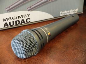 Audac Proff. sang mikrofon