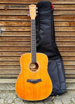 Reno RW410N western guitar m/Solid Top og Etui