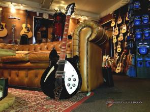 **SOLGT** RickenBacker US 360 JG el-guitar - Brugt