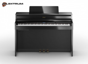 Roland HP-704 Polished Ebony el-piano